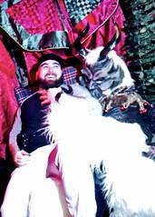 IMG_1606 (danimaniacs) Tags: man guy sexy hot krampus monster horror beard scruff smile red black white christmas