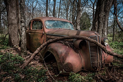 1937 Dodge Bros. Coupe (Mr. Pick) Tags: dodge bros brothers car rust rusty coupe abandoned tn tennessee