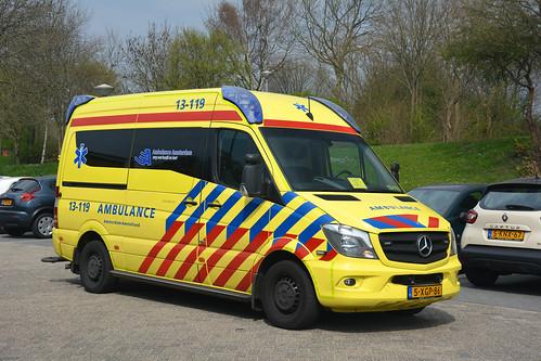 MB Sprinter, 2014 Miesen, 13-119 Ambulance Amsterdam