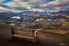 Best Seat in the House (Dave Massey Photography) Tags: keswick derwentwater latrigg scenic lakedistrict cumbria
