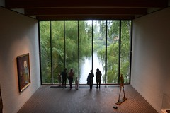 A room of the Louisiana Museum of Modern Art in Humlebæk, Denmark (Valerio_D) Tags: humlebæk danmark denmark danimarca 2017estate louisianamuseumofmodernart albertogiacometti 1001nights 1001nightsmagiccity
