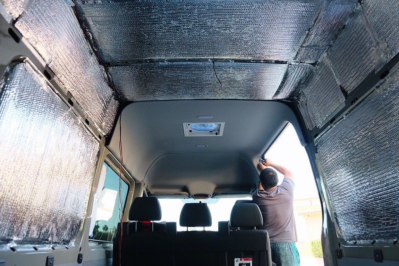 Sprinter Van Build day 9 041618