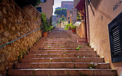 Old Town Stairs (Bo.Th) Tags: history old town architecture greece travel stairs structure stone outdoor