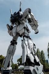 20180412 Gundam rear (chromewaves) Tags: fujifilm xt20 xf 1855mm f284 r lm ois tokyo japan divercity gundam