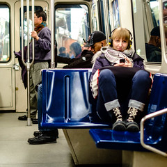 Stranger (Hub☺) Tags: 2013 canada montreal quebec stm subway train transit transport vehicle