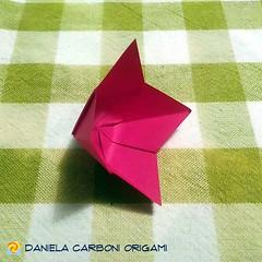"""Origami  49/36 """"Flower"""" Modello creato nel 2005. ------------------------------------------- """"Flower"""" Model created in 2005.  #origami #cartapiegata #paperfolding #papiroflexia  #paper #paperart #createdandfolded #originaldesign   #danielacarboniorigami # (Nocciola_) Tags: flower paperart cartapiegata createdandfolded papiroflexia paperfolding originaldesign danielacarboniorigami paper origami"""