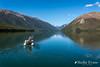 Lake Rotoiti, Nelson Lakes (flyingkiwigirl) Tags: lakerotoiti nelsonlakes dinghy kayak fishing trout mountains