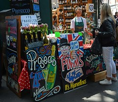 It´s Prosecco o´clock (Niwi1) Tags: greatbritain markt stand getränk london england nikon prosecco market drink beverages