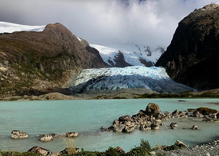 Patagonia fjords, Chile - cell geotagged