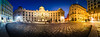 Imperial Panorama (Toukensmash) Tags: imperial panorama vienna wien österreich austria hofburg stones cobble sunset setting sun blue hour late evening night dark outside inner city cityscape pentax k1 rokinon 14mm lightroom old town historic center michaelerplatz