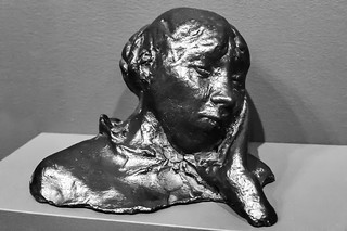 Head resting on one hand, bust (Portrait of a woman [Madame Bartholomé?])