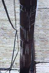 Pipe (dmitriy.marichev) Tags: fujichrome sensia 200 fujichromesensia200 chrome positive film fuji contax aria zeiss planar 50mm 5014 city street style winter snow cold contaxaria planar5014 carlzeissplanar50mmf14cymount dmitriymarichev kiev ukraine