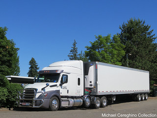 TATE Transportation Freightliner Cascadia, Truck# 453