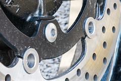 Disco de freno de moto / Motorcycle brake disc (CrisGlezForte) Tags: discos de freno moto velocidad conducir motorcycle brake disc macromondays transportation transporte