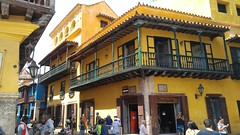 Cartagena (Tomas Belcik) Tags: cartagena colombia oldtown streets lanes colonial architecture colonialarchitecture balconies