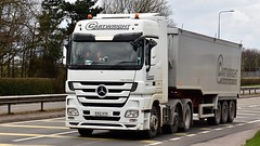 KV12 KYK (Martin's Online Photography) Tags: mercedes actros mp3 truck wagon lorry vehicle freight haulage commercial transport bulk tipper nikon nikond7200 a580 leigh lancashire