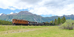 RhB Ge4/6 Locomotive_353_Punt Muragl, Switzerland_090618_01 (DS 90008) Tags: rhb railway mountains train gauge electric ge46