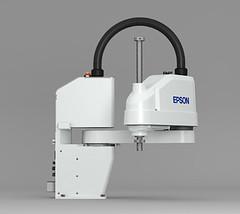 Il robot Epson SCARA T6 (apertura) 150dpi 8cm (attitudo1) Tags: