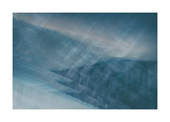 Tanygrisiau 3 (catkin314) Tags: tanygrisiau northwales slate quarry blues multipleexposure icm intentionalcameramovement colour abstract winter