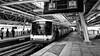 Skytrain BTS Bangkok (Swissrock-II) Tags: skytrain bts bangkok traffic รถไฟฟ้าบีทีเอส railstation blackwhite bw thailand panasonic march 2018 bangwa station