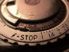 Looking for light (BeaLeiderman) Tags: old photography meter light iphonex macro macromonday backintheday