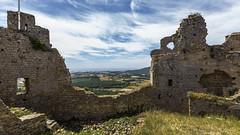 Castell de Palafolls (kike.matas) Tags: canon canoneos6d canonef1635f28liiusm kikematas castelldepalafolls barcelona españa catalunya castillo vistas nubes paisaje ruinas lightroom6