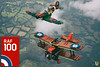 RAF 100 Years (Dread Pirate Wesley) Tags: lego moc airplane biplane plane creation aviation spitfire raf se5a battle britain raf100 england british wwi wwii world war great