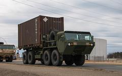 Oshkosh 10t 8x8 M1120 HEMTT LHS (NoVa Truck & Transport Photos) Tags: oshkosh 10 ton 8x8 m1120 hemtt lhs 411 engineer brigade 463 battalion 299 company fort belvoir us army