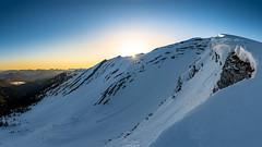 Sonnenaufgang am Schafreuter (F!o) Tags: schafreuter karwendel bayern berge alpen alps a6500 samyang samyang12mm sony schnee schneeschuhe schneeschuhwandern biwak outdoor schafreiter mountains clouds sky sunstar sigma16mm sonnenstern