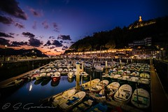 DSC_0509 (SGarderes) Tags: sailing puerto port donostia sansebastian sunset longexposure espana spain