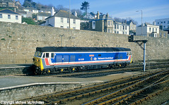 Network South East In The South West (Michael McNicholas) (Neil Harvey 156) Tags: railway 50035 arkroyal penzancestation penzance cornwall class50 networksoutheast englishelectric hoover michaelmcnicholas