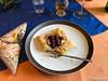 Kirschen auf Amarettomarzipan auf Blätterteig (Laterna Magica Bavariae) Tags: kirschen amarettomarzipan amaretto marzipan blätterteig
