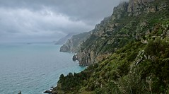 Cliffs along the Amalfi coast (somabiswas) Tags: amalfi italy drive