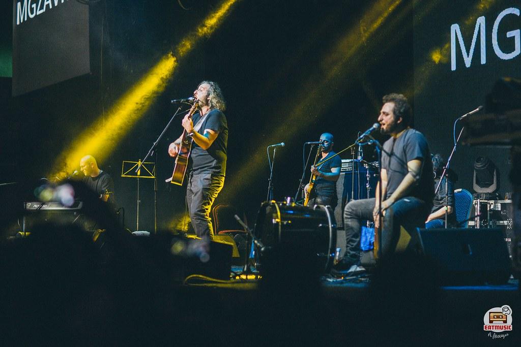 Презентация нового альбома группы Mgzavrebi «Krebuli» (ГЛАВCLUB 14-04-2018): репортаж, фото Алевтина Легещич