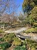 Cylburn Arboretum ~ shadow garden (karma (Karen)) Tags: baltimore maryland cylburnarboretum parks gardens trees bushes paths fences benches shadows iphone hbm hff