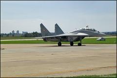 MiG-29UB (Pavel Vanka) Tags: hungarianairforce ciaf2006 mig29ub fulcrum mig29 jet fighter ciaf czechinternationalairfest lktb brnoturany brno czech czechrepublic airplane plane aircraft airshow spotting spot spotter