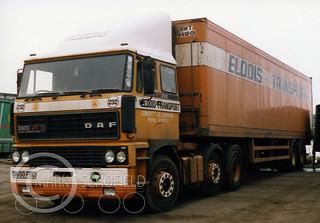D650FDC DAF 2800 ELDDIS TRANSPORT