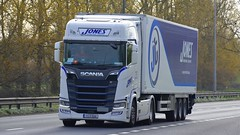 172-D-15018 (panmanstan) Tags: scania ng s500 wagon truck lorry commercial international irish freight transport haulage vehicle a63 everthorpe yorkshire