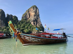 Thai Longboat (kylewagaman) Tags: thailand thai longboat boat water beach travel