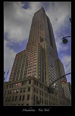 Empire State Building - NYC (vonhoheneck) Tags: manhattan broadway timesquare 5thavenue uptown schoelkopf schölkopf canon eos6d usa nyc newyork taxi wolkenkratzer skyscraper flatironbuilding chryslerbuilding bigapple empirestatebuilding