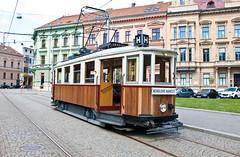 DPMB Brno 107 Komenského náměstí 16.7.2017 (Christian Pischinger) Tags: tschechien strasenbahn tramway stadtverkehr oldtimer brno brünn