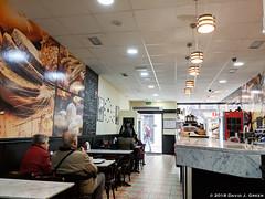 Morning Coffee in A Coruna (David J. Greer) Tags: a coruna la galicia spain winter rubicon3 sailtrainexplore coffee restaurant granier counter tables people