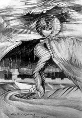 出産 (alice 240) Tags: arttate modernart contemporaryart artist drawing illustration expression visualart visualpoetry museum alice240 atelier240art art alicealicjacieliczka 出産 pencilonpaper traditionalart surrel surrealism artistic exprssionism creative poetry gallery magic dream monochrome