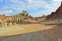 Desierto de la Tatacoa (Tato Avila) Tags: colombia colores cálido cielos naturaleza nikon nubes desierto desiertodelatatacoa huila paisaje landscape cactus colombiamundomágico