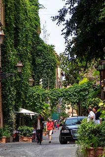 Via Margutta, Rome.