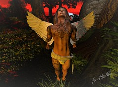 angel (blut.voom) Tags: pose endless pain tattoos