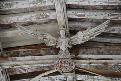Angel roof (jpotto) Tags: uk blythburgh suffolk roof wood angel carving church religion