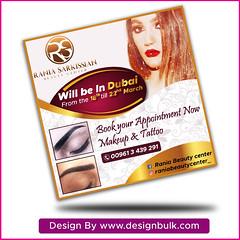 Flyer/ pamphlet design (designbulk.com) Tags: flyer poster banner design graphic template leaflet pamphlet brochure logodesign nyc london dubai beautycenter ohio melbourn