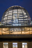 The new dome and the debate chamber underneath it (HansPermana) Tags: berlin germany deutschland hauptstadt capitalcity eu europa europe ddr architecture building longexposure bluehour spring march 2018