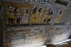Offerings to gods and goddesses (konde) Tags: tt219 nebenmaat 19thdynasty deirelmedina newkingdom hieroglyphs luxor ancientegypt thebes tomb goddess hathor rahorakty ankh art coffin mummy